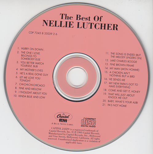 Nellie Lutcher - The Best Of Nellie Lutcher (1995)