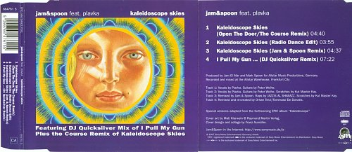 Jam & Spoon - Kaleidoscope Skies (Remixes) (1997)