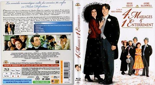 Четыре свадьбы и одни похороны / Four Weddings and a Funeral (1993)