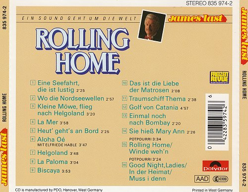 James Last - Rolling Home (1988)