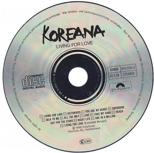 Koreana - Living For Love (1990)