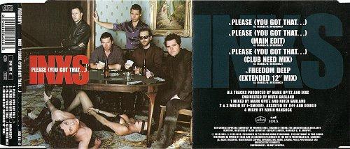 INXS - Please (You Got That...) (1993, Single)