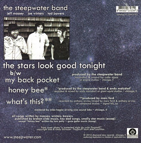 Steepwater Band, The - The Stars Look Good Tonight (2010)