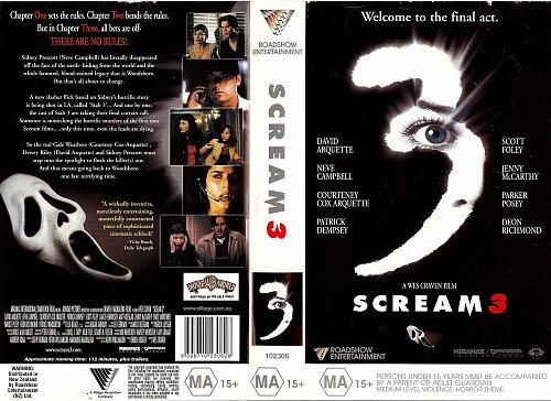 Scream 3 / Крик 3 (1999)