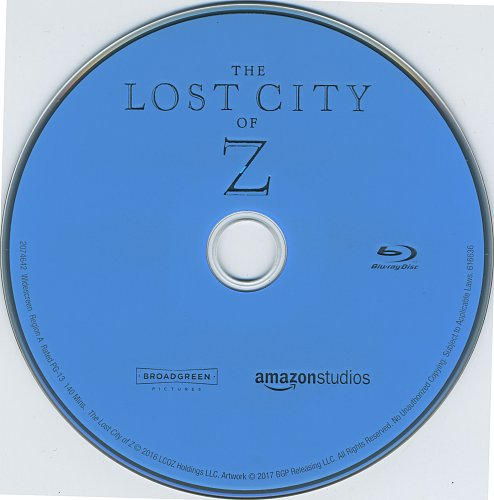Затерянный город Z / The Lost City of Z (2016)
