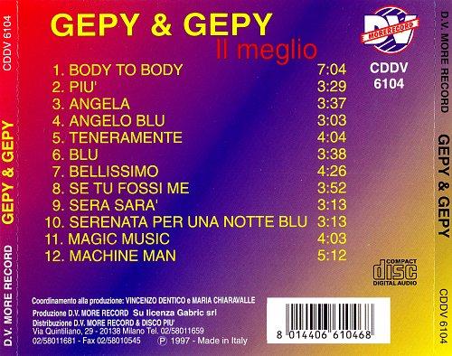 Gepy & Gepy - Il Meglio (1997)