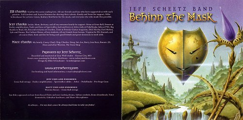 Jeff Scheetz Band - Behind the Mask (2008)