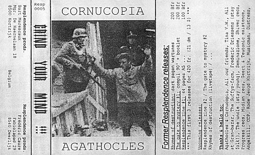 Cornucopia / Agathocles - Grind Your Mind !!! (1995/1996 Resplendence Productions, Belgium)