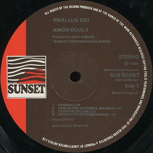 Amon Düül II - Phallus Dei (1969)