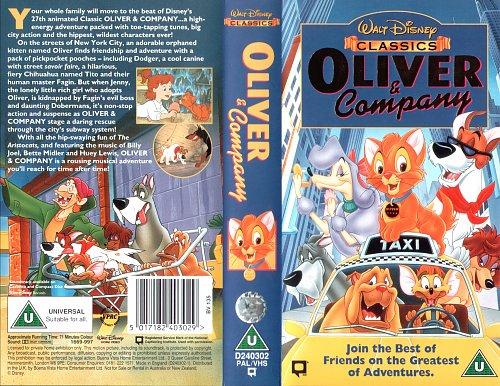 Oliver & Company / Оливер и компания (1988)