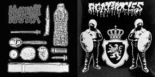 Agathocles / Ηχητική Ναυτία (2016 DeathForce Records, Greece)
