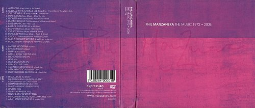 Phil Manzanera (Roxy Music) - The Music 1972-2008 (2008)