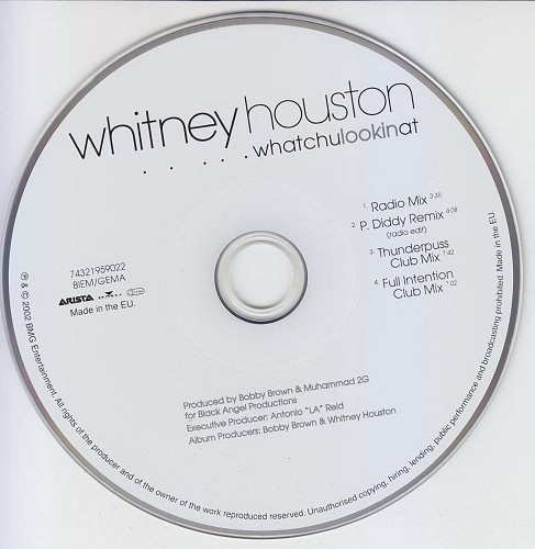 Whitney Houston - Whatchulookinat (2002, CD-Maxi)