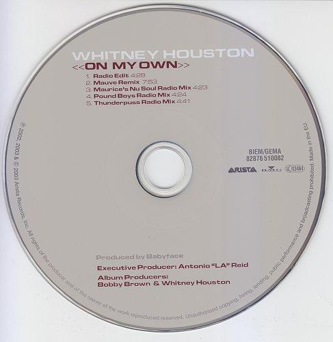 Whitney Houston - On My Own (2003, CD-Maxi)