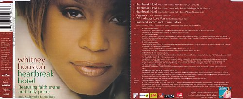 Whitney Houston - Heartbreak Hotel (2001, CD-Single)