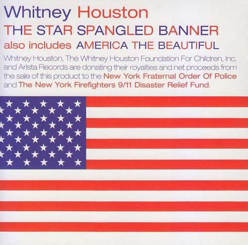 Whitney Houston - The Star Spangled Banner (1991, CD-Single)