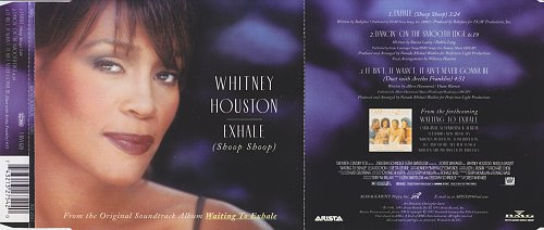 Whitney Houston - Exhale (Shoop Shoop) (1995, CD-Single)