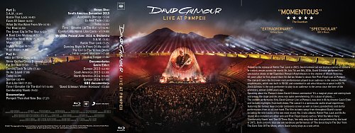 David Gilmour - Live At Pompeii (2017)