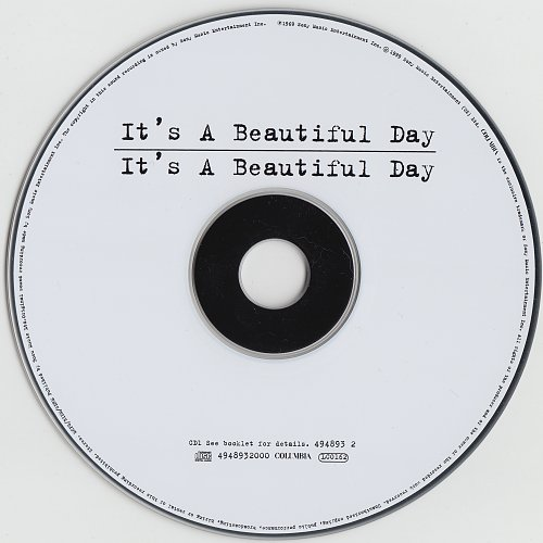 It's A Beautiful Day -It's A Beautiful Day 1969 / Marrying Maiden 1970 - 2CD (1999)