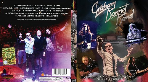 Graham Bonnet Band live...Here comes the night