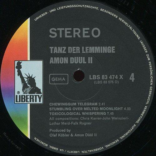 Amon Düül II - Tanz Der Lemminge (1971)