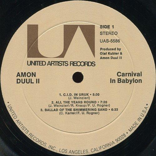Amon Düül II - Carnival In Babylon (1972)