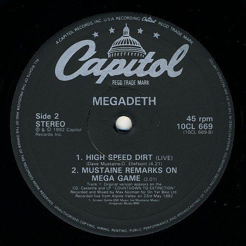 Megadeth - Skin O' My Teeth (1992) EP