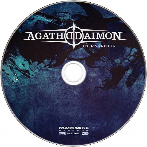 Agathodaimon - In Darkness (2013 Massacre Records, SoulFood, Germany)