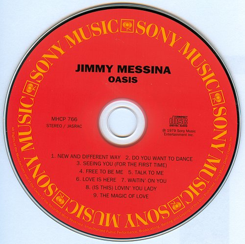Jimmy Messina - Oasis (1979)