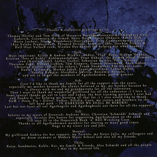 Agathodaimon - In Darkness (digipack, booklet) (2013 Massacre Records, SoulFood, Germany)