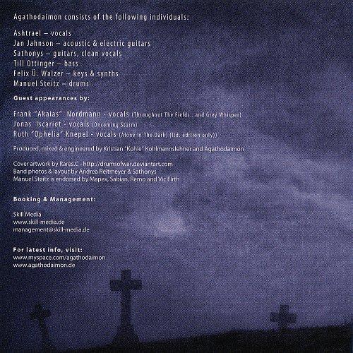Agathodaimon - Phoenix (14 tracks, digipack, booklet) (2009 Massacre Records, SoulFood, Germany)