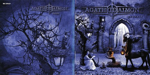 Agathodaimon - Phoenix (14 tracks, digipack, booklet) (2009 Massacre Records, SoulFood, Germany)