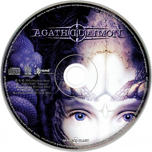 Agathodaimon - Serpent's Embrace (2004 Kohlekeller Studio, Nuclear Blast, Germany; Irond, Russia)