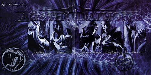 Agathodaimon - Serpent's Embrace (digipack) (2004/2008 Metal Mind Productions, GM Records, Poland)
