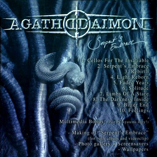 Agathodaimon - Serpent's Embrace (2004 Kohlekeller Studio, Nuclear Blast GmbH, Technicolor, Germany)