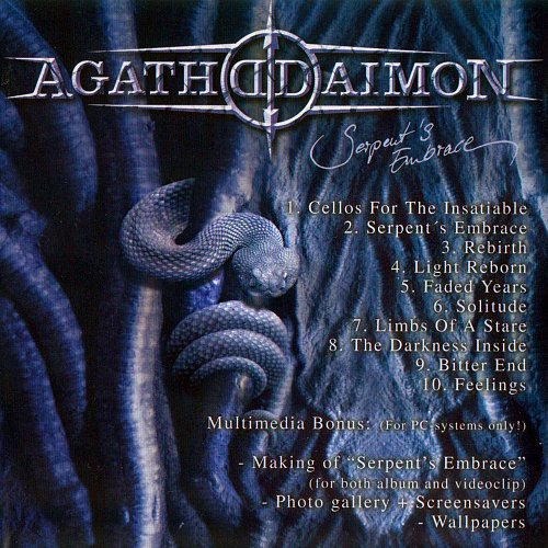 Agathodaimon - Serpent's Embrace (2004 Kohlekeller Studio, Nuclear Blast, Technicolor, Germany) 2CD