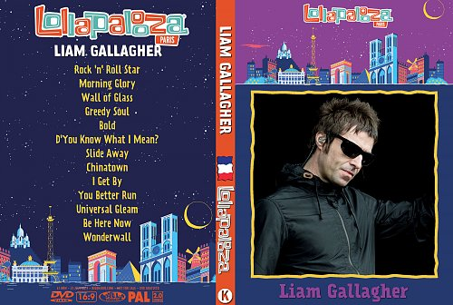 Liam Gallagher - Lollapalooza (2017)