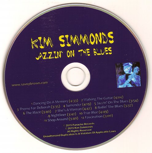 Kim Simmonds - Jazzin' On The Blues (2017)