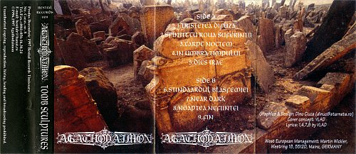 Agathodaimon - Tomb Sculptures (1996 Headless Stud.; 1997 Steinberger Stud., Bestial Rec's, Romania)