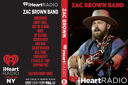 Zak Brown Band - iHeart Radio (2017)