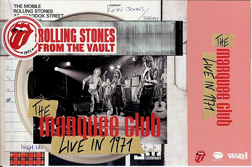 Rolling Stones, The - The Marquee Club (Live In 1971) (2015)