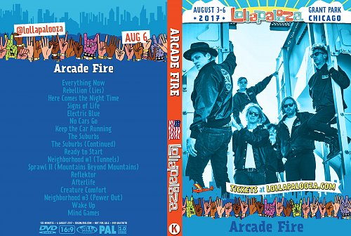 Arcade Fire - Lollapalooza Chicago (2017)