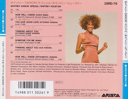 Whitney Houston - Whitney Dancin' Special (1986)