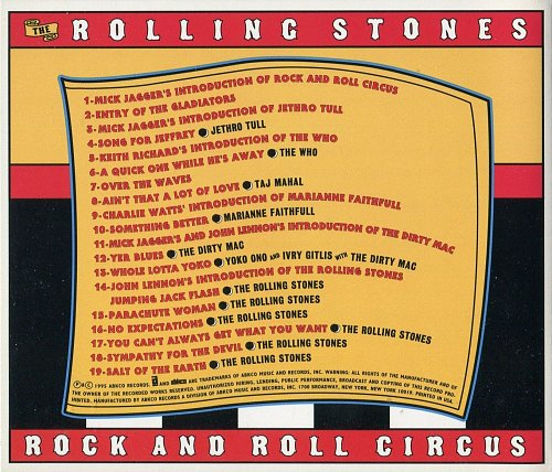 Rolling Stones, The - Rock And Roll Circus (1996)