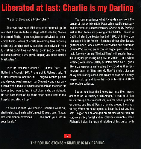Rolling Stones, The - Charlie Is My Darling \ Ireland 1965 (2012)