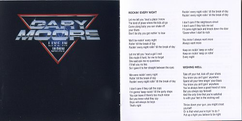 Gary Moore - Rockin' Every Night (1983)