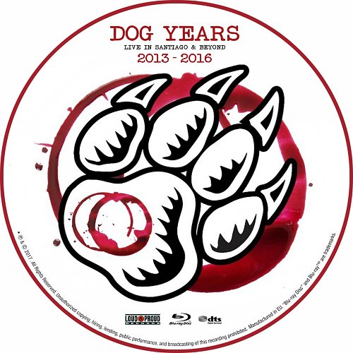 Winery Dogs, The - Dog Years: Live In Santiago & Beyond (2017)
