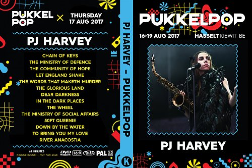 PJ Harvey - Pukkelpop (2017)