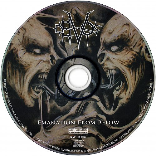 Deivos - Emanation From Below (2006 Hertz Studio, Empire Rec.; 2008 Metal Mind Prod., Takt, Poland)