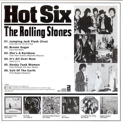 Rolling Stones, The - Hot Six (2006)